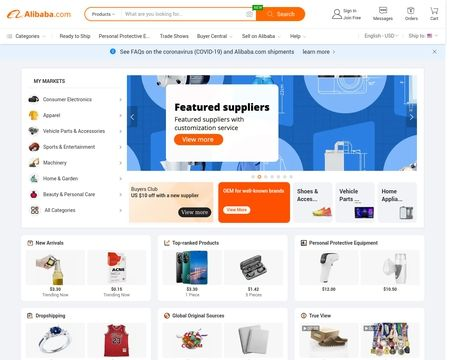 Alibaba Reviews 12 408 Reviews Of Alibaba Com Sitejabber Find quality manufacturers, suppliers, exporters, importers, buyers, wholesalers, products and trade leads from our looking for india alibaba popular content, reviews and catchy facts? reviews of alibaba com