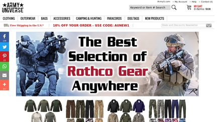ArmyUniverse Reviews - 13 Reviews of Armyuniverse.com  2400754ede9