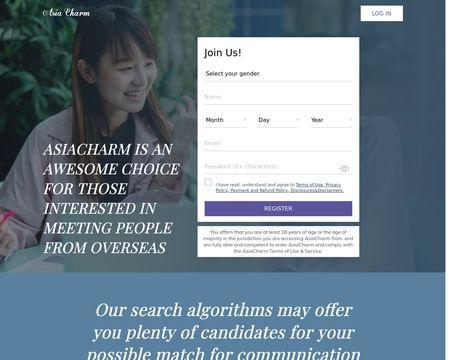 Asia charm delete account