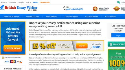 American custom writing services