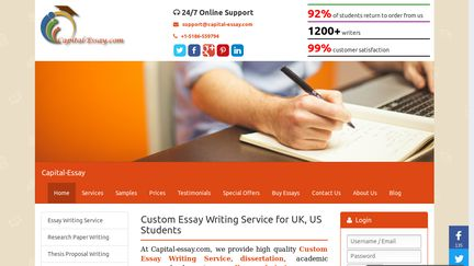 Capitalessay Reviews   Review Of Capitalessaycom  Sitejabber  Persuasive Essay Example High School also English Language Essays  Lab Report Writer
