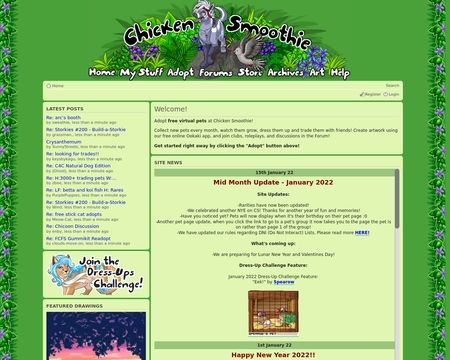 Chicken Smoothie Christmas 2021 Pets Chicken Smoothie Rarity List