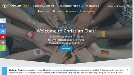 Religious chat rooms for debate