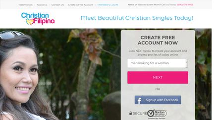 Christian filipina sign up