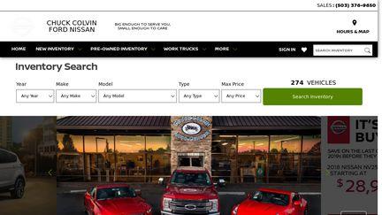 Chuck Colvin Ford >> Chuck Colvin Ford Nissan Reviews 1 Review Of Colvinauto Com