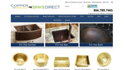 Exceptional Coppersinksdirect Reviews   1 Review Of Coppersinksdirect.com | Sitejabber