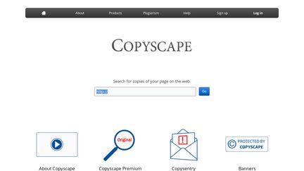 copyscape check text