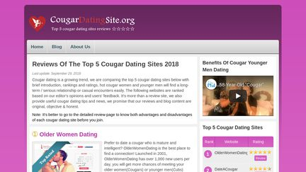 CougarDatingSite.org Reviews - 1 Review of Cougardatingsite.org | Sitejabber