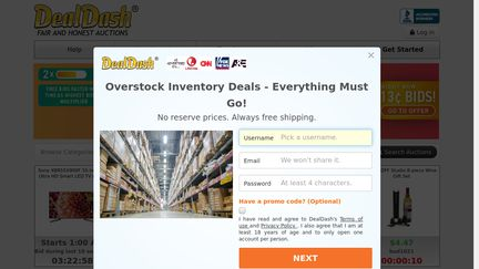 Deal Dash Com Tvs >> Dealdash Reviews 3 954 Reviews Of Dealdash Com Sitejabber