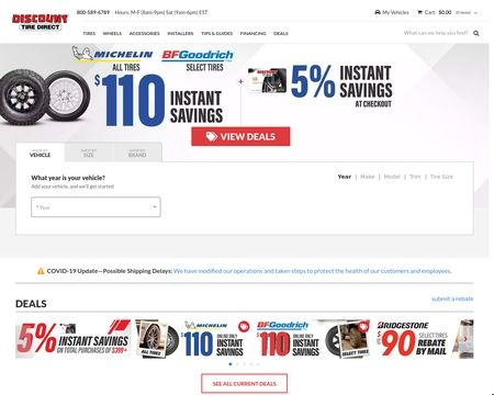 Discount Tire Direct Reviews 2 Reviews Of Discounttiredirect Com Sitejabber