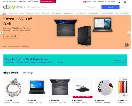 Ebay Ca Reviews 59 Reviews Of Ebay Ca Sitejabber