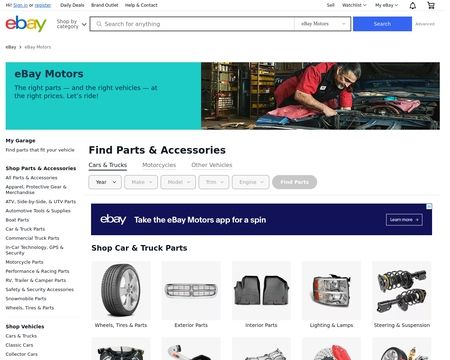 Ebay Motors Reviews 5 Reviews Of Ebaymotors Com Sitejabber