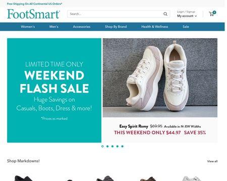 Reviews of Footsmart.com