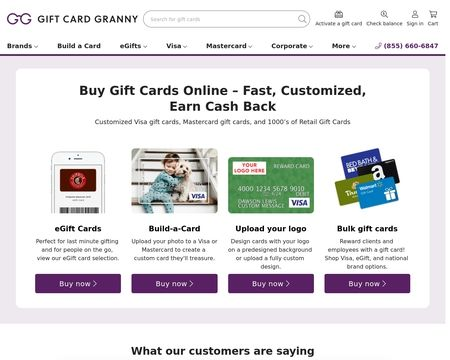 gift cards for reviews