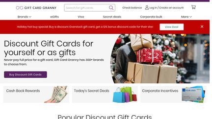 Gift Card Granny Reviews - 5 Reviews of Giftcardgranny.com ...