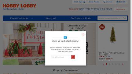 Hobbylobby Reviews 19 Reviews Of Hobbylobby Com Sitejabber