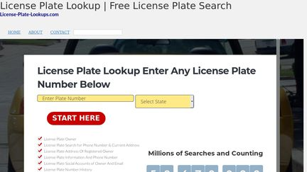 License Plate Lookups Reviews - 1 Review of License-plate