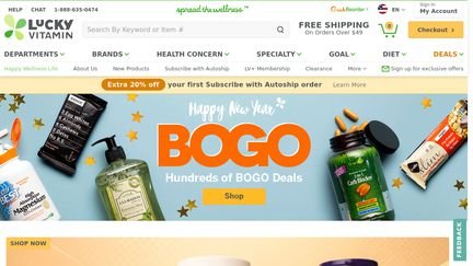 LuckyVitamin Reviews Reviews Of Luckyvitamincom Sitejabber - What needs to be on an invoice vitamin store online