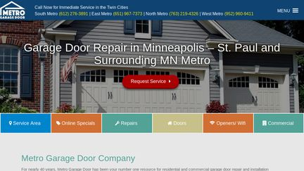 Metro Garage Door Reviews 4 446 Reviews Of Metrogaragedoor Com