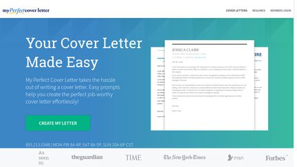 MyPerfectCoverLetter Reviews   38 Reviews Of Myperfectcoverletter.com |  Sitejabber  My Perfect Cover Letter