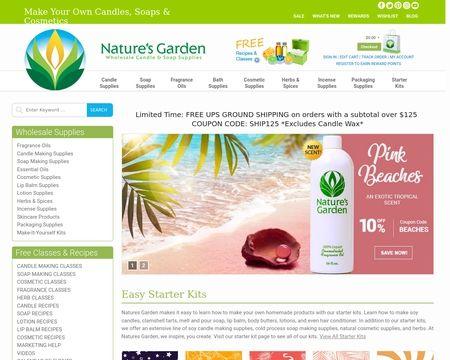 Nature S Garden Reviews 20 Reviews Of Naturesgardencandles Com