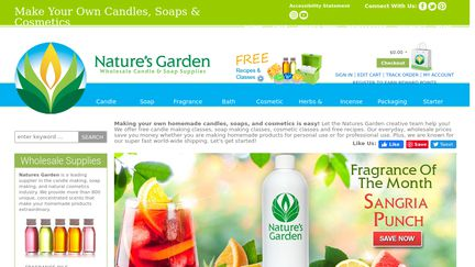 natures garden reviews 16 reviews of naturesgardencandlescom sitejabber - Natures Garden Candles