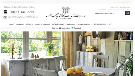Newbyhouseinteriors.co.uk Reviews   11 Reviews Of Newbyhouseinteriors.co.uk  | Sitejabber