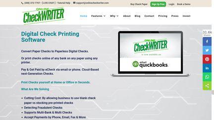 onlinecheckwriter reviews 75 reviews of onlinecheckwriter com