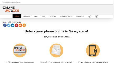 OnlineUnlocks Reviews - 29 Reviews of Onlineunlocks com | Sitejabber