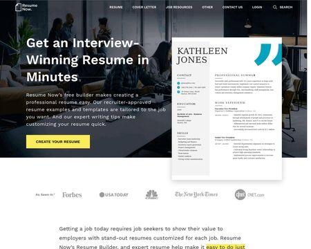 Resume Now Reviews 3 542 Reviews Of Resume Now Com Sitejabber