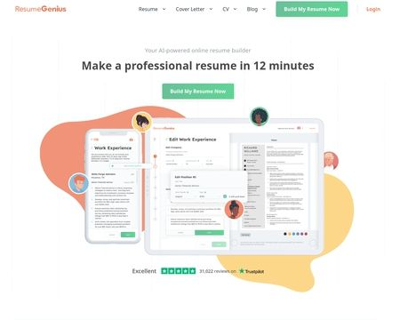 Resumegenius Reviews 24 586 Reviews Of Resumegenius Com Sitejabber