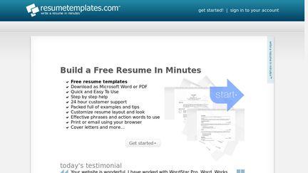 ResumeTemplates Reviews 2 Reviews of Resumetemplates – Resume Templates.com