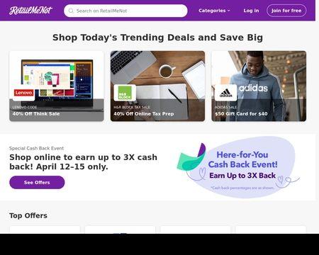 Retailmenot Reviews 214 Reviews Of Retailmenot Com Sitejabber