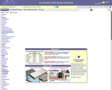 Rockauto Reviews 586 Reviews Of Rockauto Com Sitejabber