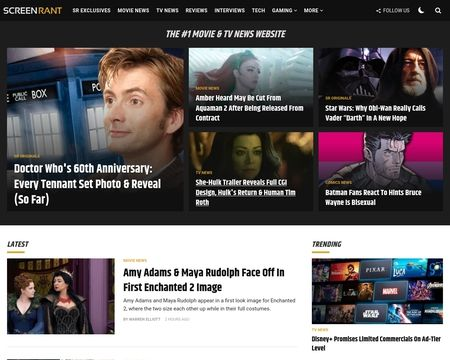 Screenrant Reviews 42 Reviews Of Screenrant Com Sitejabber