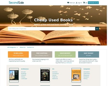 Secondsale Reviews - 1 Review of Secondsale.com | Sitejabber