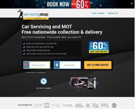 Servicing Stop Reviews 35 Reviews Of Servicingstop Co Uk Sitejabber