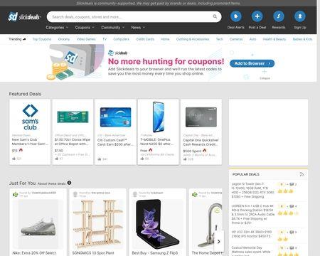 Slickdeals Reviews 6 174 Reviews Of Slickdeals Net Sitejabber