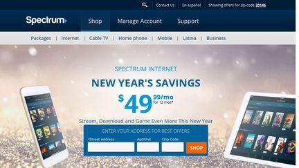 spectrum internet specials