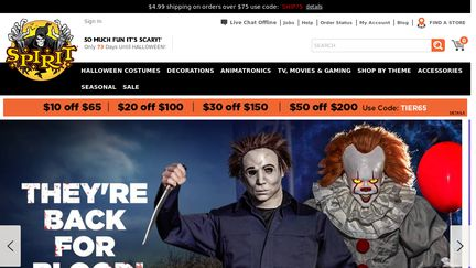SpiritHalloween Reviews - 68 Reviews of Spirithalloween.com ...