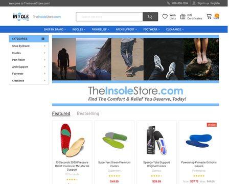 TheInsoleStore.com Reviews - 8 Reviews