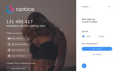 Is topface dating site legitimate