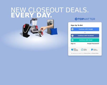 Tophatter Reviews 6 998 Reviews Of Tophatter Com Sitejabber