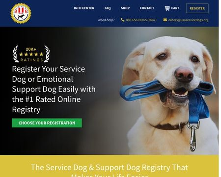 Usa Service Dogs Reviews 78 Reviews Of Usaservicedogs Org Sitejabber