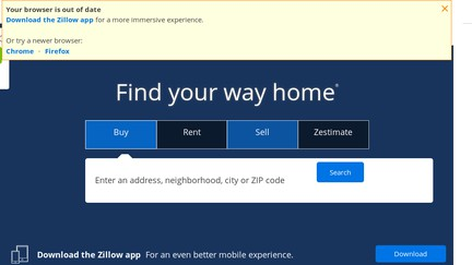Zillow reviews 540 reviews of sitejabber for Zillow site